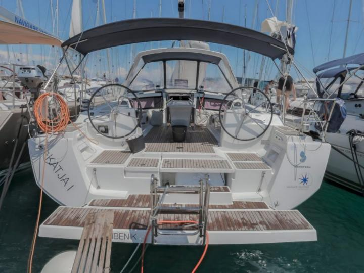 Sailboat for rent in Trogir, Croatia for up to 10 guests - rent the Katja I boat.