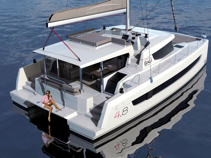 Catamaran rental in Scrub Island, British Virgin Islands - discover vacation on a sailing boat for up to 12 guests!