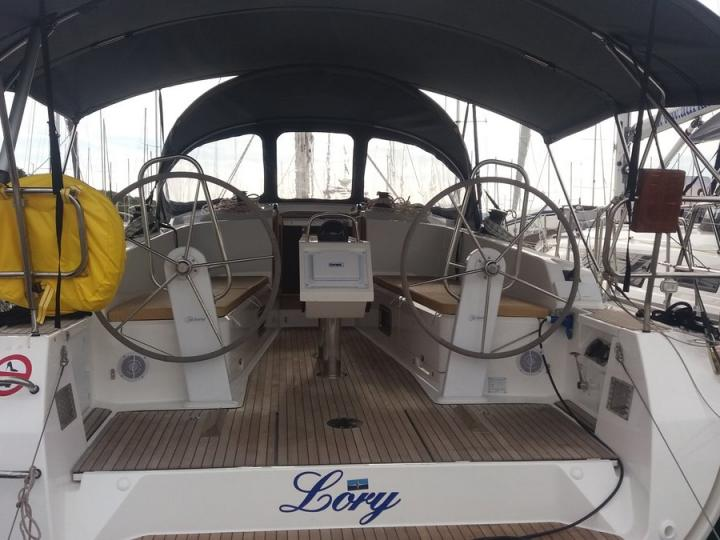 The perfect sail boat for rent in Split, Croatia.