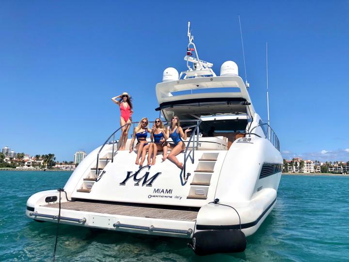 72' Mangusta YCM - Luxurious Yacht for Charter in Miami and The Bahamas