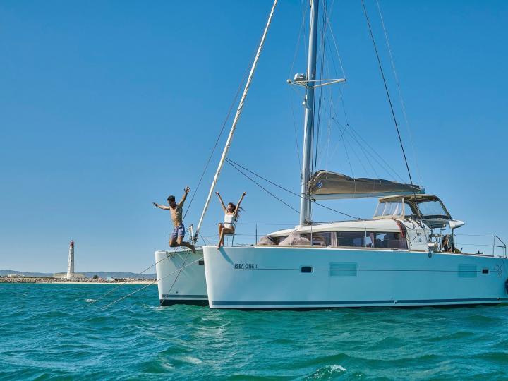 Day Charter Sailing Catamaran