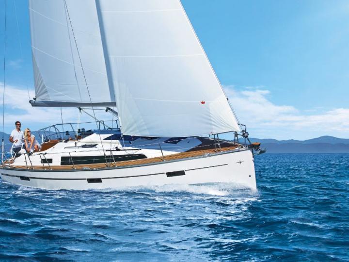 Sailing charter in Split, Croatia.