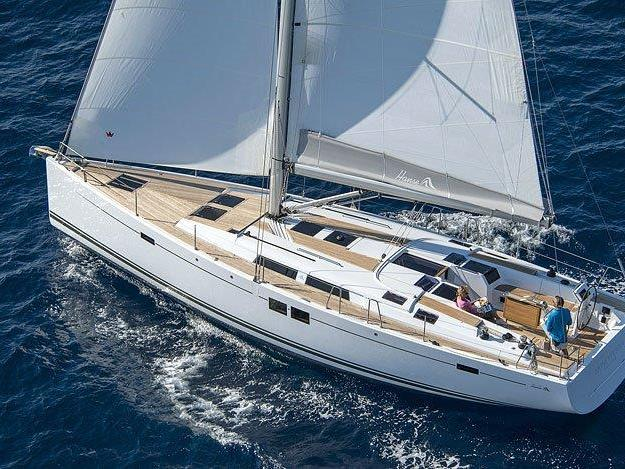 Private sail boat for rent in Split, Croatia - a yacht charter for up to 8 guests.