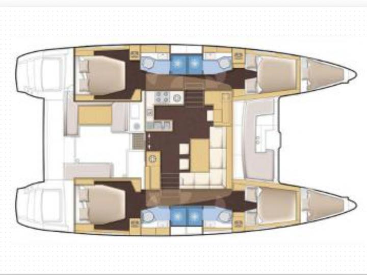 The perfect catamaran for rent in Split, Croatia!