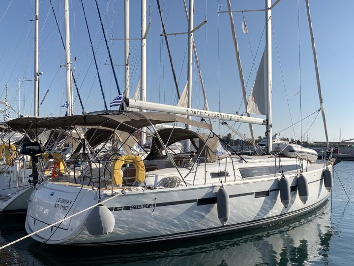Rent a 41ft boat in Lavrio, Greece and enjoy a yacht charter trip like never before.