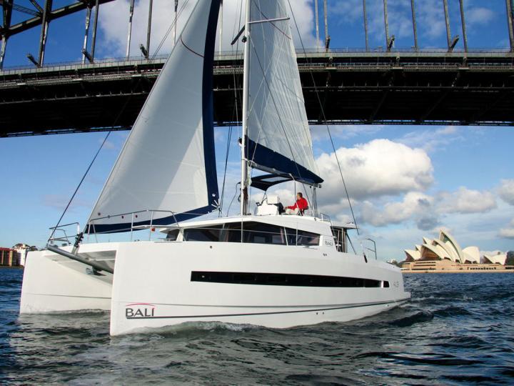 Private catamaran for rent in Zadaru, Croatia - book a yacht charter for up to 8 guests.
