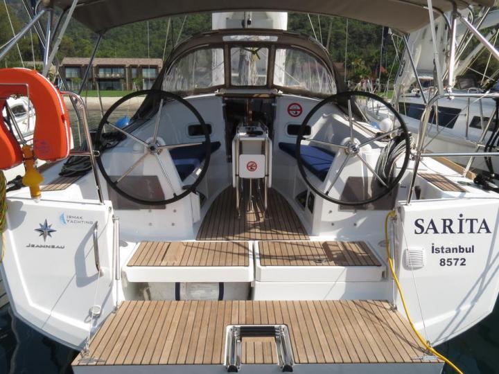 Rent the Sarita - a sail boat in Göcek, Turkey.