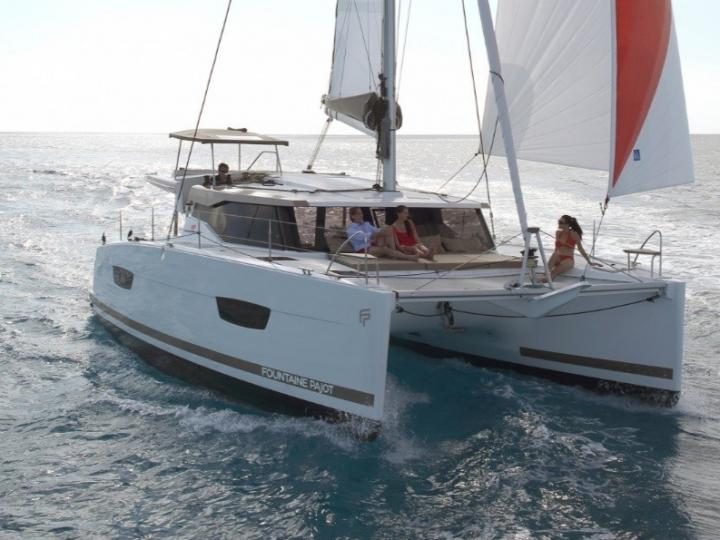 Sail on a Catamaran in Key West, United States - the ultimate vacation trip on a yacht charter for 6 guests.