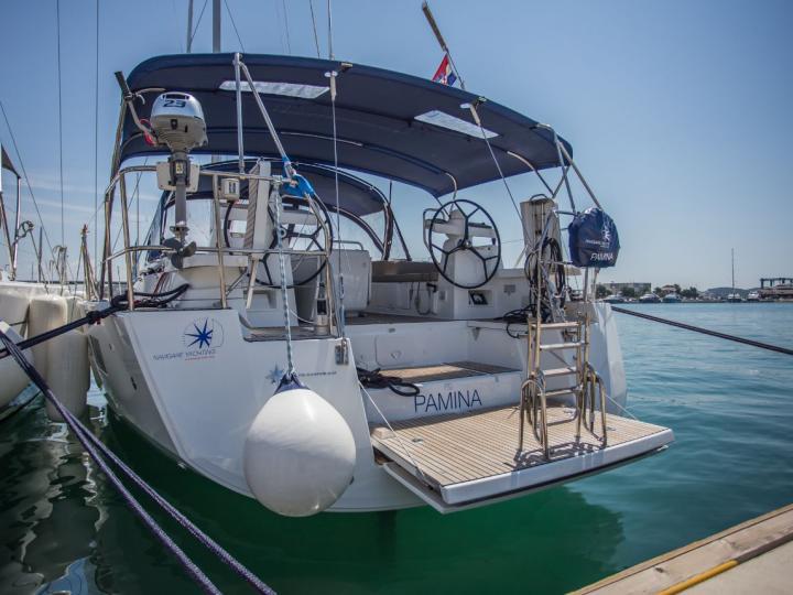 Beautiful sailboat for rent in Split, Croatia.