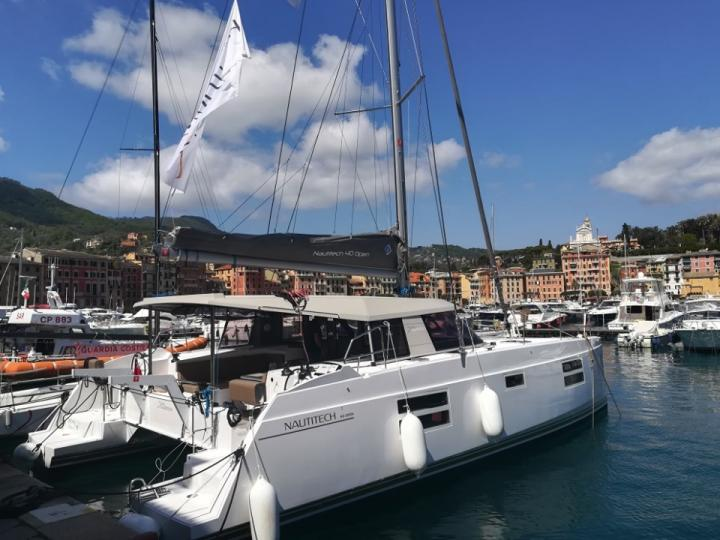 Boat rental in Cagliari, Italy for up to 8 guests - discover sailing on a catamaran.