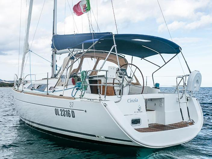 Cruise the waters of Portisco, Italy, aboard this great sail boat for rent.
