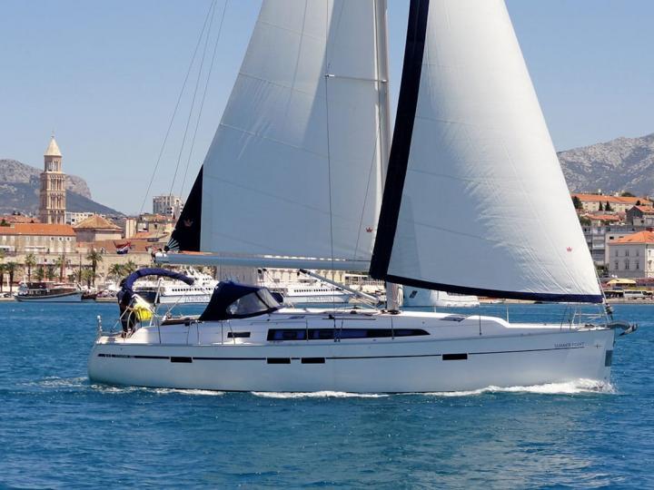 Affordable sailboat rental in beautiful Split, Croatia.