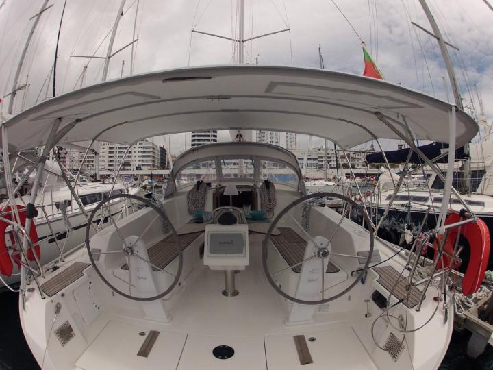 Sail boat for rental in Ponta Delgada, Portugal  - charter a boat for up to 6 guests.