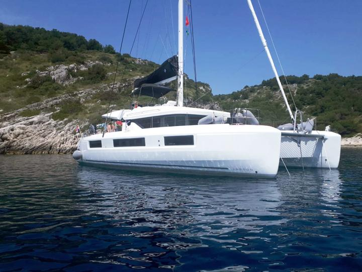 Boat rental in Split, Croatia - the ADRIATIC LEOPARD boat for rent for 12 guests.