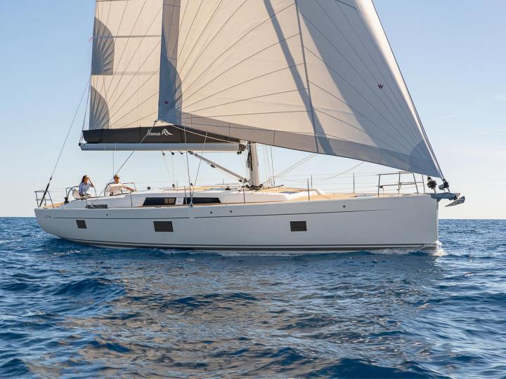 Beautiful sailboat for rent in Split, Croatia - the Golden Box yacht charter.