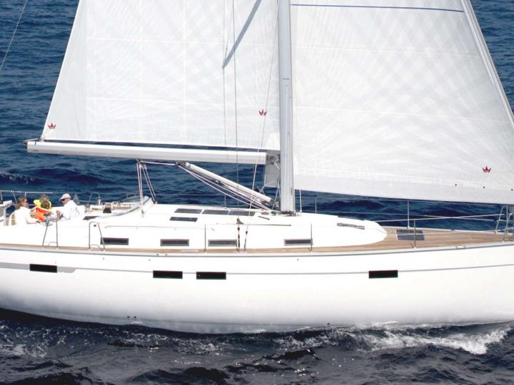 Sail around Mataró, Spain on a sail boat - rent the amazing THALASSA boat and discover sailing.