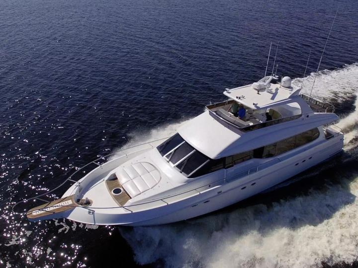 Aziumt 70' Super Luxury Yacht for Charter in Marina Del Ray