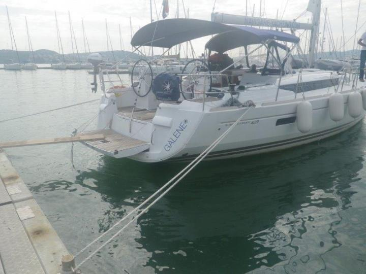 Rent a boat in Split, Croatia - amazing sailboat for rent.