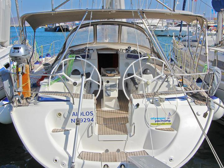Excellent boat rental in Lavrio, Greece - the AIOLOS yacht charter