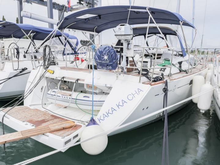 KaKa KaCha - a 58ft boat for rent in Split, Croatia. Enjoy a great yacht charter for 8 guests.