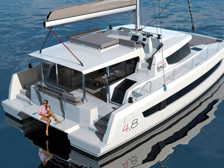 Yacht charter in Split, Croatia - rent a catamaran for up to 12 guests.