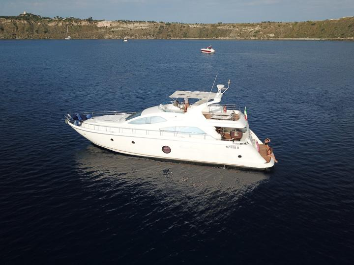 Boat rental in Milazzo, Italy for up to 8 guests - discover sea on a power boat.