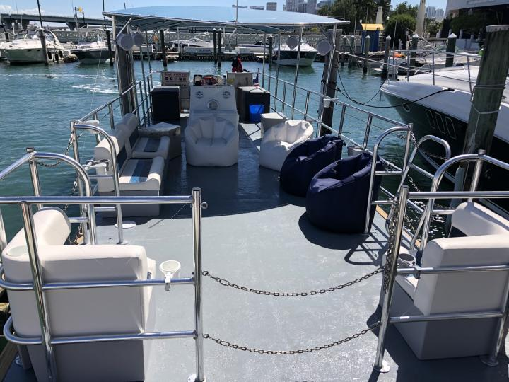 Short & Sweet: Hard to Find Two Hour Private Charter - Best Sound System on Open Deck