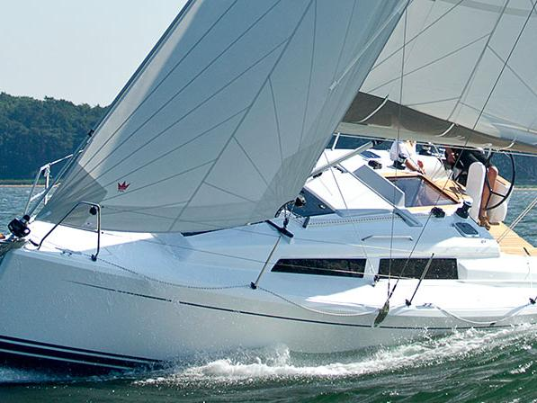 Discover sailing aboard the 32ft Miss Behavin' yacht charter in Zadar, Croatia - boat for rent for 4 guests.