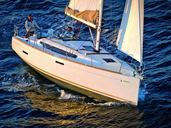 Rent a sailboat in Portocolom, Spain - the BarElli boat.