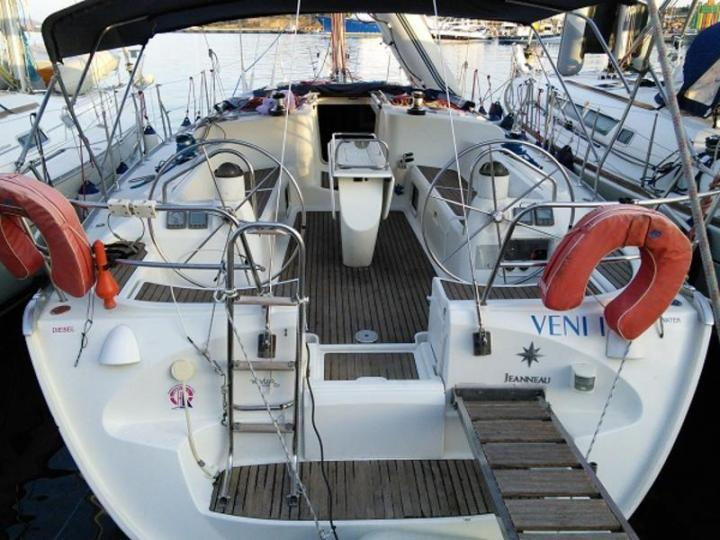 Private yacht charter in Lavrio, Greece - boat rental for up to 8 guests.