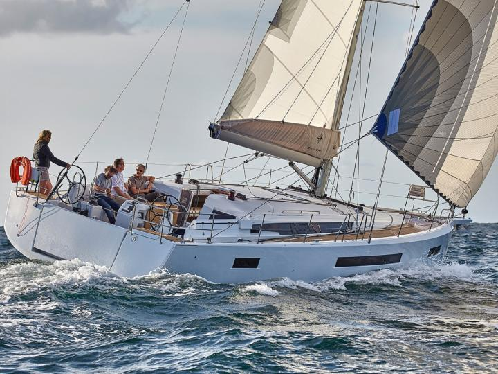 Yacht charter in Portisco, Italy - rent a sail boat for up to 10 guests.