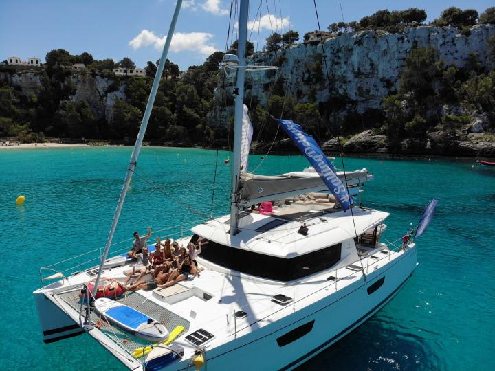 Lamela - a 8 cabins boat for rent in Olbia, Italy. Enjoy a great yacht charter for 12 guests.