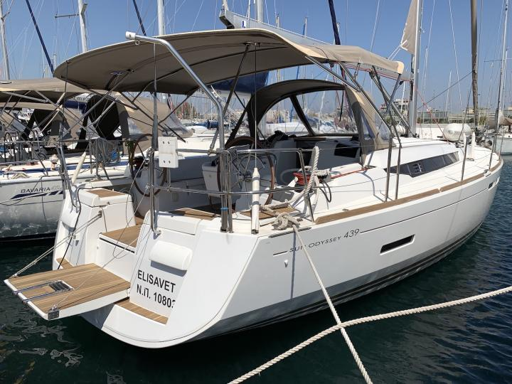 Elisavet - a 44ft boat for rent in Lavrio, Greece. Book a yacht charter for 8 guests.
