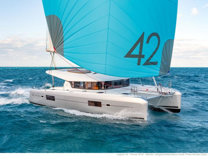 Sail on a rental catamaran in Key West, United States
