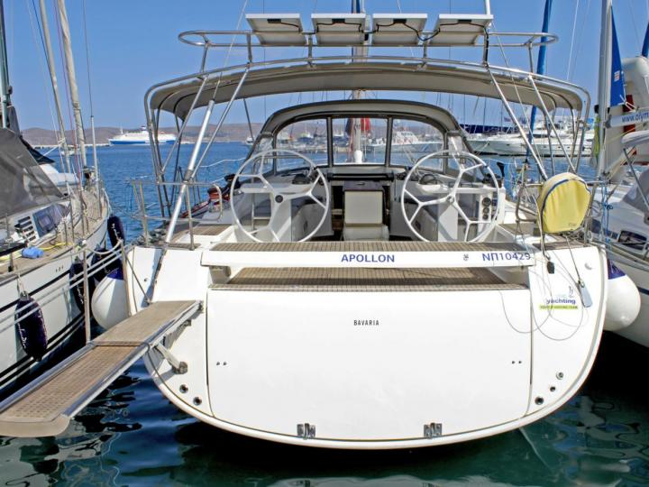 Gorgeous yacht charter in Lavrio, Greece - rent a sail boat for up to 10 guests.