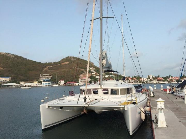 Beautiful catamaran for rent in Cartagena, Colombia - rent a boat for up to 8 guests.