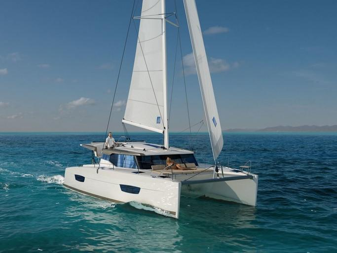 Catamaran for rent in Trogir, Croatia - a yacht charter for up to 8 guests.
