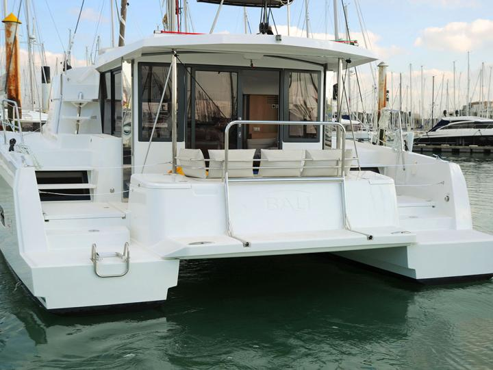Discover boating aboard the 41ft NN BIO catamaran for rent in Zadar, Croatia - a 4-cabin yacht charter.