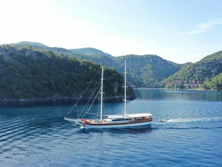 40 Meter 10 Cabins 22 Passenger Luxury Gulet in Turkey