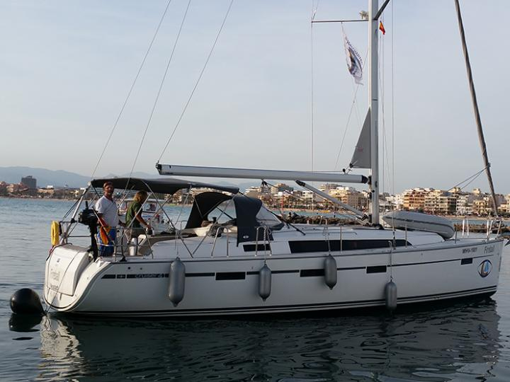 Rent a boat in Palma, Spain for up to 6 guests - the Fireball yacht charter.