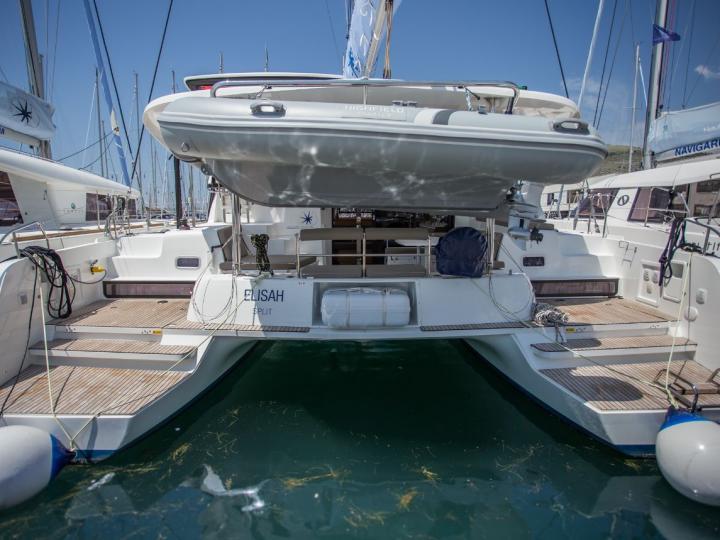 Top of it's class catamaran charter near Split, Croatia - a spectacular 8 guest catamaran for rent. Make your sailing dreams come true!