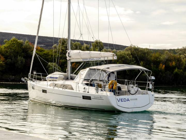 Cruise the beautiful waters of Tivat, Montenegro aboard this great boat for rent.