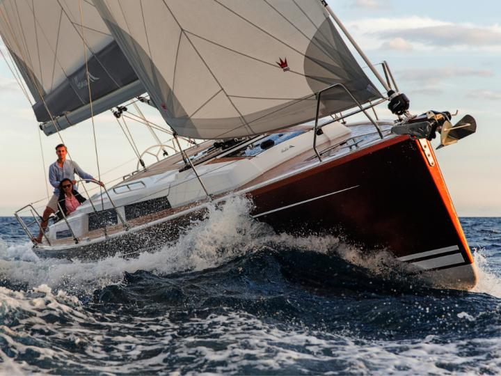 Top yacht charter in Split, Croatia - rent a sailboat for up to 6 guests.