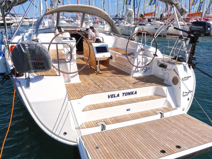 Spacious sailboat rental in Split, Croatia.