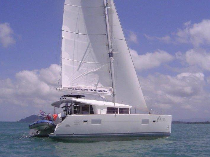 Phuket, Thailand yacht charter - rent a catamaran for up to 8 guests.