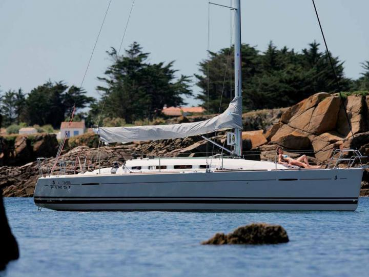 Sophie - a 36ft sail boat for rent in Portisco, Italy.