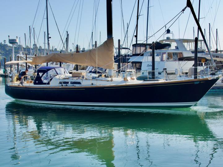 Most beautiful boat on San Francisco Bay