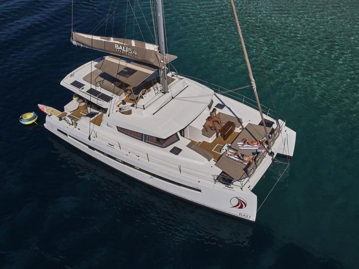 Yacht charter in Split, Croatia - a 10 guests catamaran for rent.