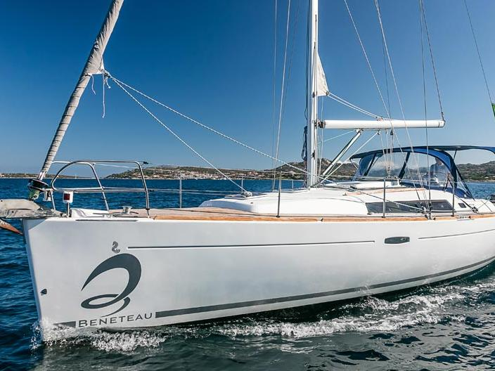 Yacht charter in Portisco, Italy - a 6 guests sail boat for rent.