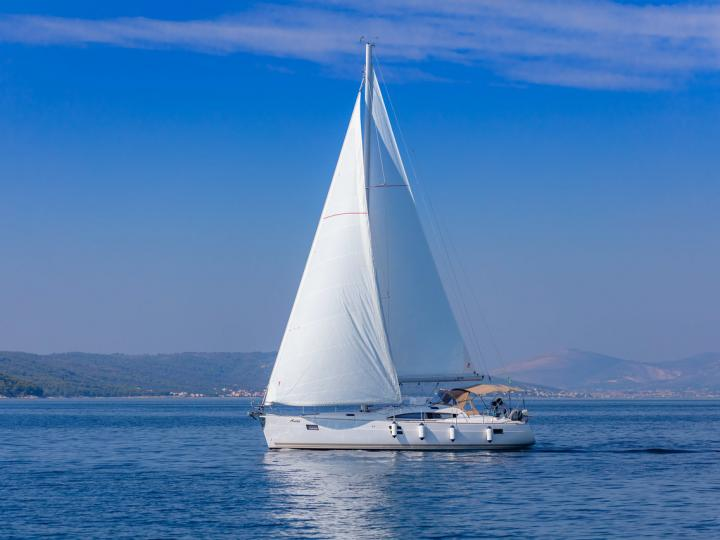 Sail boat boat rental in Split, Croatia for up to 8 guests.